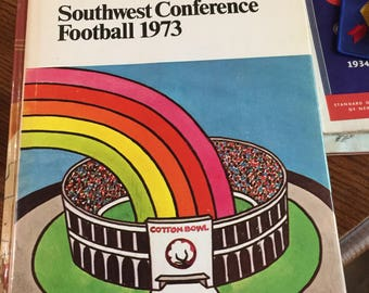 Southwest Conference Football book 1973