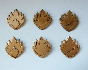 Ravagers badges: Yondu, Kraglin and others (from Guardians of the Galaxy)
