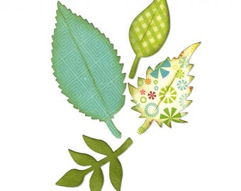 Sizzix Spring Leaves die