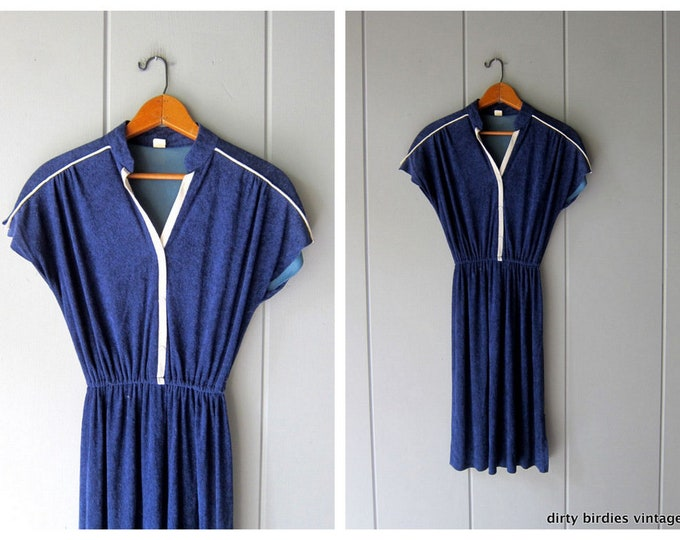 80s Terrycloth Dress