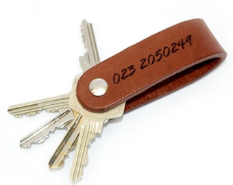 Hide&key leather keyhoulder