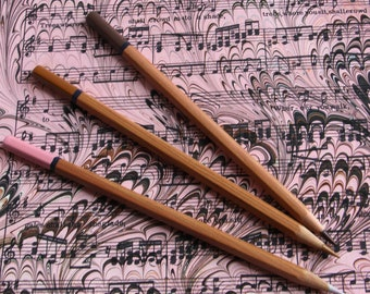 A Rosy Walk- handmade marbled sheet music