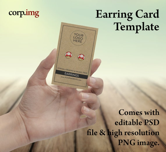 completely new printable earring cards ym49 advancedmassagebysara