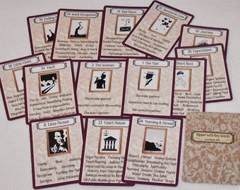 Kipper with Key Words (1920s version) Fortune Telling Cards. Brand New. Self Published.