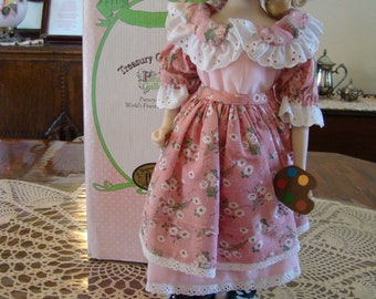 Amy from Little Women Porcelain Doll by Paradise Galleries, Treasury Collection