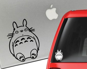 My Neighbor Totoro Studio Ghibli Vinyl Decal for Laptop or Car
