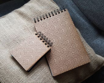 Reclaimed wood notepad