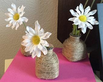 Three Mini Vases
