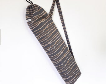 Yoga Bag, Yoga Mat Bag, Yoga Mat Carrier, Upcycled Yoga Bag, Yoga Mat Cover
