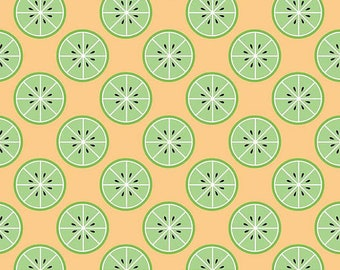 """Sugar With a Twist of Lemon - C6321-Yellow - Riley Blake Designs - Simple Simon & Co - Quilting Fabric - 100% cotton - 44"""" wide - Limes"""