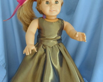 American Girl Doll - Fall Party Dress