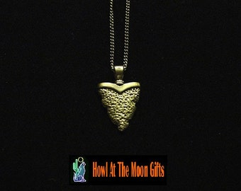 Sterling Arrowhead Pendant Chain Necklace