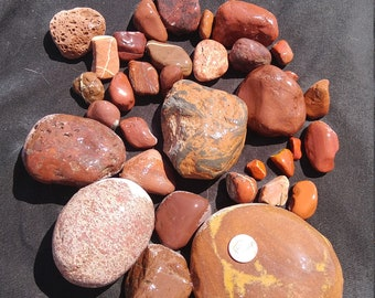Red-Brown Stones, 5lbs
