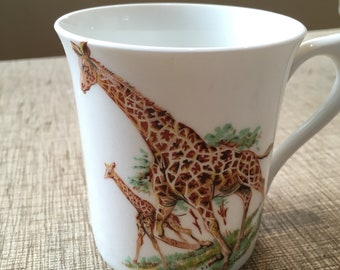 Momma and Baby Giraffe Mug