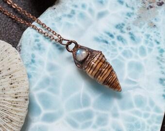 Ocean Moon Necklace