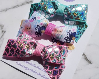 Mermaid Boutique Bow Set