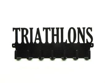 Triathlons Medals Rack
