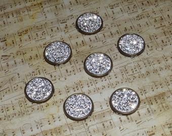 Bronze and Rhinestone Magnets