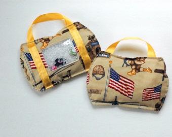 SALE Toolbag Army I Spy bag