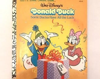 Vintage Disney Little Golden Book
