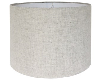 Drum lamp shade etsy custom lamp shade fabric lampshade linen lamp shades natural lampshades drum lamp aloadofball Gallery