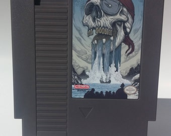 The Goonies One 1 Nintendo NES English Working! Free Shipping!
