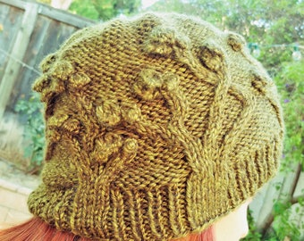 Joshua Tree National Park Beanie Knitting Pattern