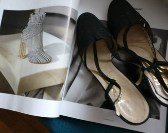 Salvatore ferragamo early example shoes