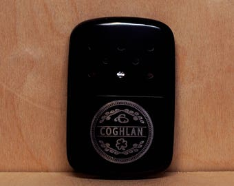 Zippo Hand Warmer Black Personalized