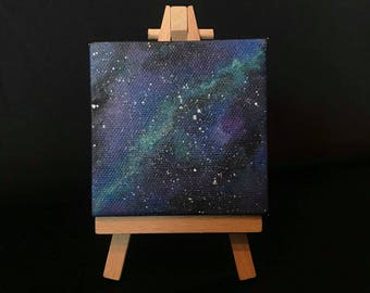 Out Of This World Galaxy Painting