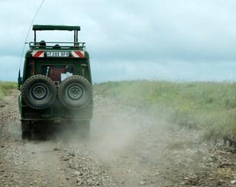 Safari Vehicle (Ngorongoro Crater) - Tanzania, Africa, Ngorongoro Conservation Area
