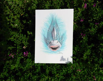 Inktober 2017 - Jaws Original