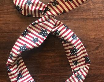 Stars And Stripes Wire Twist Headband