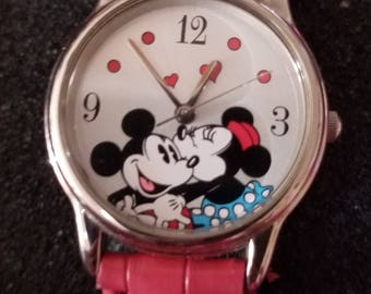 Disney's Mickey and Minnie Mouse watch