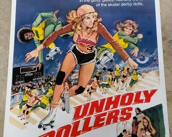 Unholy Rollers movie poster