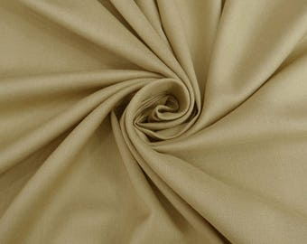 """Taupe Rayon Fabric, Sewing Fabric, Dress Material, Decor Fabric, Crafting, 40"""" Inch Upholstery Fabric By The Yard PZBR3T"""