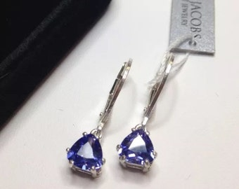 jewelry of deals shop diamonds with great galleria the oval gold jared white tanzanite cut on earrings