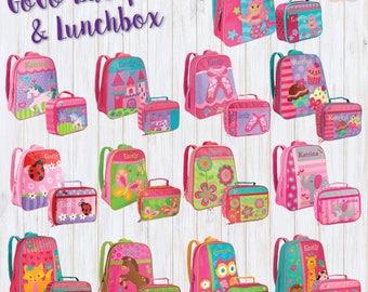 Little Kids Backpack, Toddler Backpack, Backpack Set, Mini Backpack, Personalized Backpack, Stephen Joseph, Gift For Girls, Girl Backpack