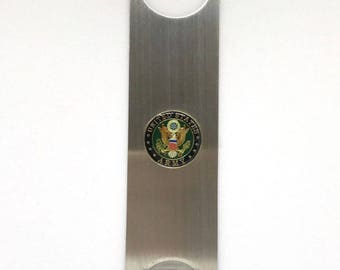 """Army Bottle Opener - 1"""" Color"""