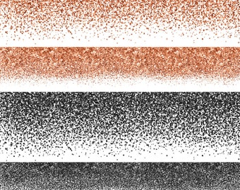 Glitter Borders, Glitter Clipart, Glitter Clip Art, Halloween Glitter, Glitter Overlay, Printable Commercial Use