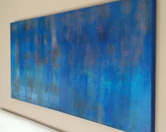 Abstract painting abstract painting contemporary abstract art painting decoration modern painting. Ready to hang up. Echo 2017