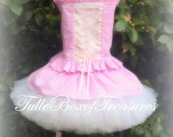 Beautiful Pink Ballerina Tutu and top
