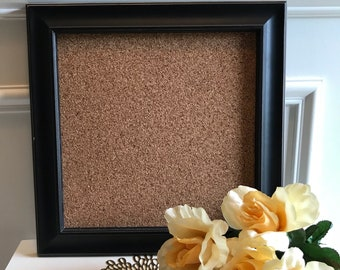 Framed cork board, The London