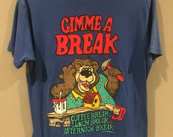 Vintage Gimme a Break funny shirt