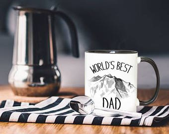 World's Best Dad, Gift For Father, Dad Mug, Dad Gift