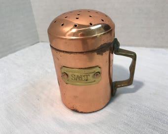 Copper Salt Shaker