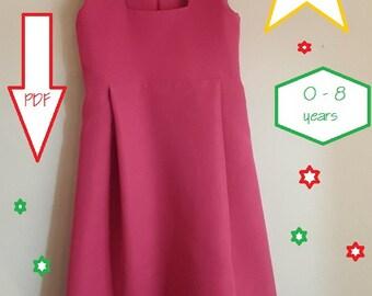 Dress Masha pattern