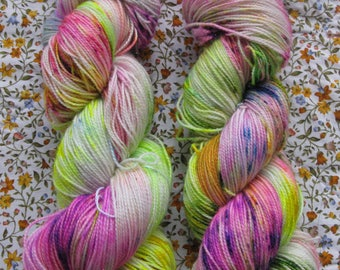 Magic 4ply hand dyed sock yarn.Inspired by Harry Potter.