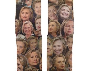 Hillary Clinton socks