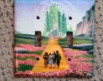 The Wizard of Oz - light switch cover plate (dual toggle)